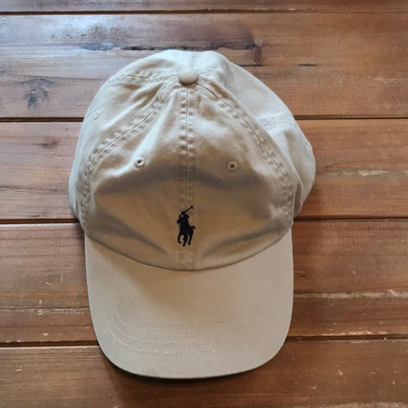 1233162ff Polo by Ralph Lauren Khaki baseball cap